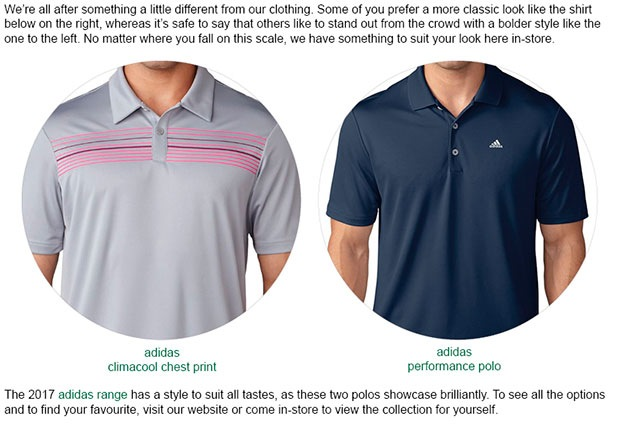 adidas Clothing Article