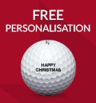 Titleist ball personalisation - from £18.99