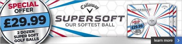 Callaway Supersoft double dozen