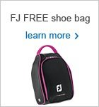 Free ladies shoe bag offer