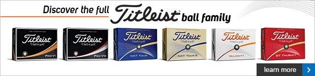 Titleist Golf Ball Family
