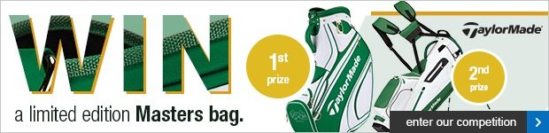 TaylorMade - Win a Limited Edition Masters Bag