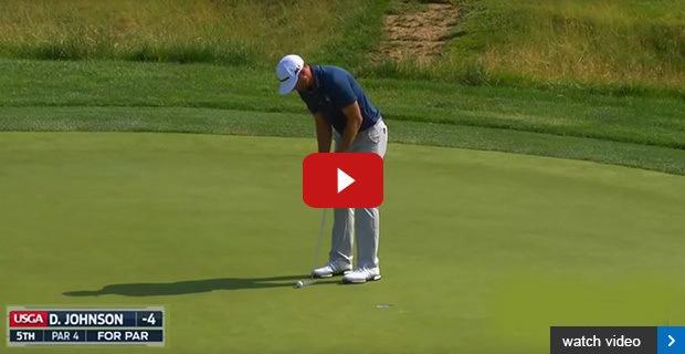 Dustin Johnson wins controversial US Open
